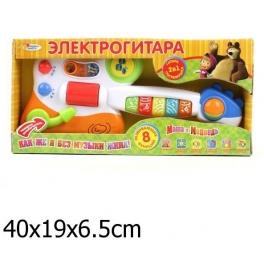 """Электрогитара """"Маша и Медведь"""" - 8 функций"""