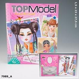 "Альбом для творчества ""TOP Model"" - ""Around the world"""