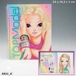 """Альбом-раскраска для творчества """"TOP Model"""" - """"Make Up"""""""