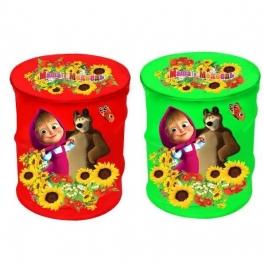 """Корзина для игрушек """"Маша и Медведь"""""""