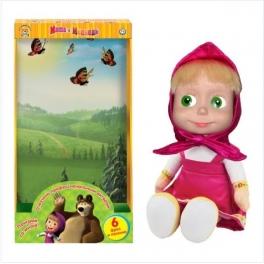 """Мягкая игрушка """"Маша и медведь"""" - """"Маша"""" в дисплее 29 см"""