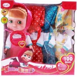"Кукла Маша ""Маша и Медведь"" - Карапуз + Одежда 25 см"