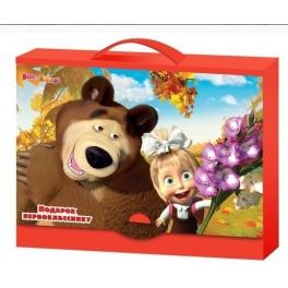 """Портфель-подарок для первоклассника """"Маша и Медведь"""""""