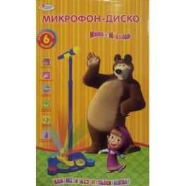 """Микрофон """"Маша и медведь"""" - """"Диско"""""""